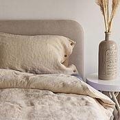 Для дома и интерьера handmade. Livemaster - original item Linen set Melted milk-Elite linen made of pure linen. Handmade.