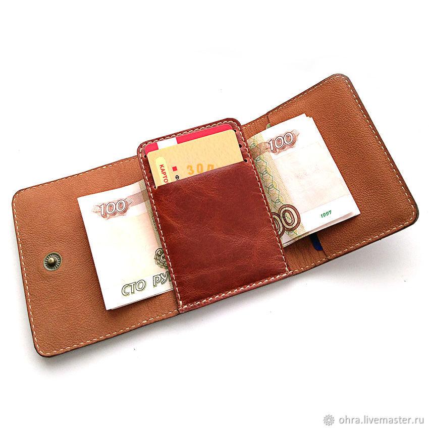 Dukat Cognac cardholder Wallet, Cardholder, Cheboksary,  Фото №1
