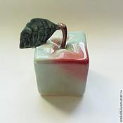 Для дома и интерьера handmade. Livemaster - original item Square green apple. Handmade.