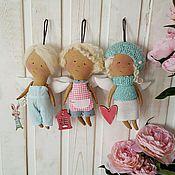 Куклы и игрушки ручной работы. Ярмарка Мастеров - ручная работа кукла Феечка Летняя. Handmade.