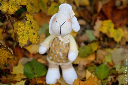Игрушки животные, ручной работы. Ярмарка Мастеров - ручная работа. Купить Овечка - символ 2015. Handmade. Овечка, символ года