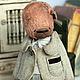 Мишки Тедди ручной работы. Митя и медведь. Вера Кондратьева (hmdolls). Ярмарка Мастеров. Авторский мишка, игрушка, опилки