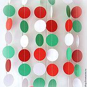 Свадебный салон ручной работы. Ярмарка Мастеров - ручная работа Бумажные гирлянды. Handmade.