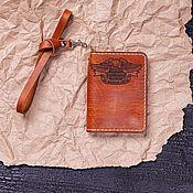 Канцелярские товары handmade. Livemaster - original item Cover for Classic documents. Handmade.