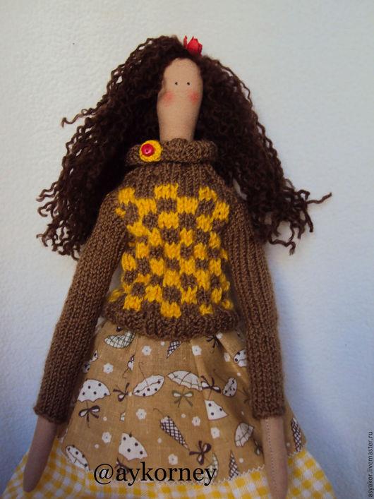 Куклы Тильды ручной работы. Ярмарка Мастеров - ручная работа. Купить Куколка Тильда. Handmade. Серый, тильда, хлопок 100%