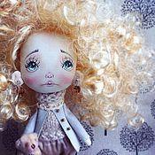 """Куклы и игрушки ручной работы. Ярмарка Мастеров - ручная работа Авторская кукла """"Кудряшечка"""". Handmade."""