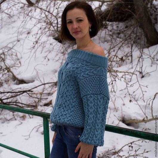 Кофты и свитера ручной работы. Ярмарка Мастеров - ручная работа. Купить Нежный свитер по мотивам Ruban. Handmade. Свитер, весна