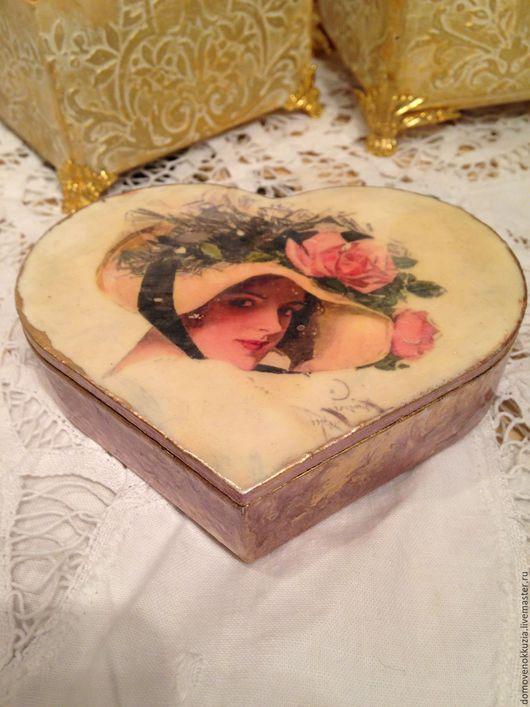 Шкатулки ручной работы. Ярмарка Мастеров - ручная работа. Купить шкатулка Сердце. Handmade. Шкатулка, шкатулки, для девушки, подарок подруге