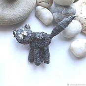 Украшения handmade. Livemaster - original item Brooch knitted