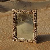 Для дома и интерьера ручной работы. Ярмарка Мастеров - ручная работа Зеркало Волна. Handmade.