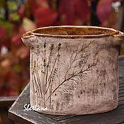 """Для дома и интерьера ручной работы. Ярмарка Мастеров - ручная работа Ваза """"Сухие травы"""". Handmade."""