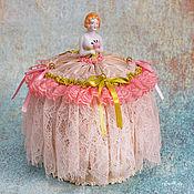 """Куклы и игрушки ручной работы. Ярмарка Мастеров - ручная работа Half Doll игольница """"Утро в саду"""". Handmade."""