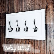 Для дома и интерьера handmade. Livemaster - original item Hangers and hooks: in the hallway. Handmade.