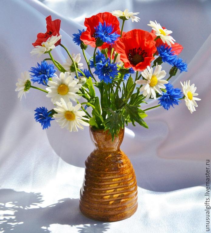 Цветы фото букеты полевые цветы