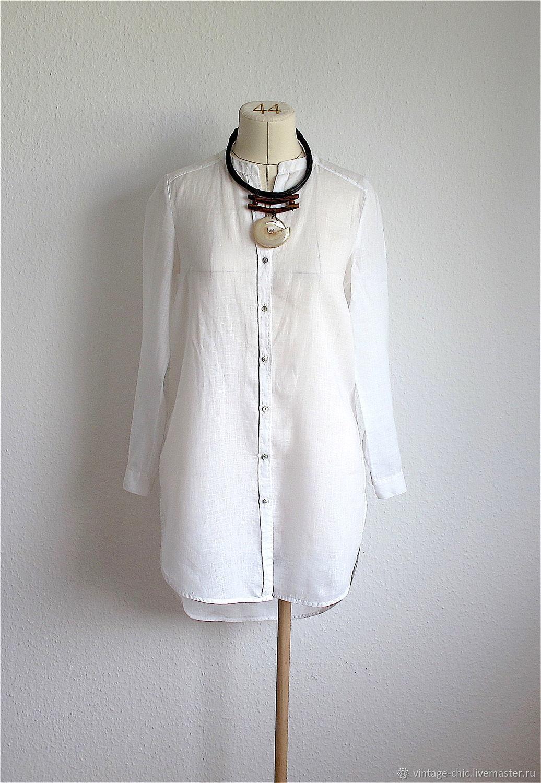 22003c98e69a Одежда. Ярмарка Мастеров - ручная работа. Купить Винтаж  Платье-рубашка  100% ...