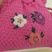 Работы для детей, ручной работы. Ярмарка Мастеров - ручная работа сумочка Розовый пион. Handmade.