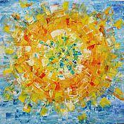 Картины и панно ручной работы. Ярмарка Мастеров - ручная работа Ода Солнцу. Handmade.