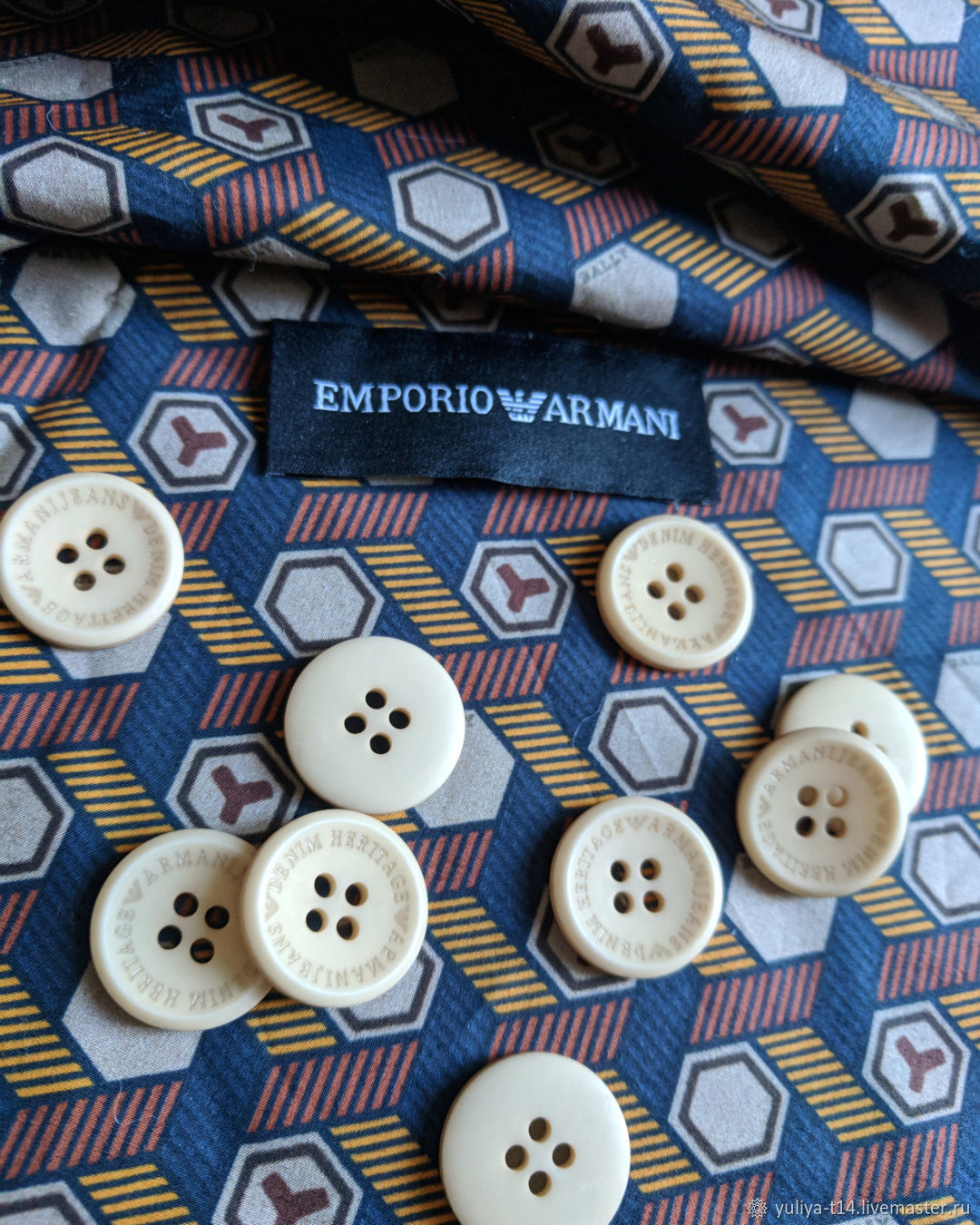 Armani style buttons, Buttons, Mytishchi,  Фото №1