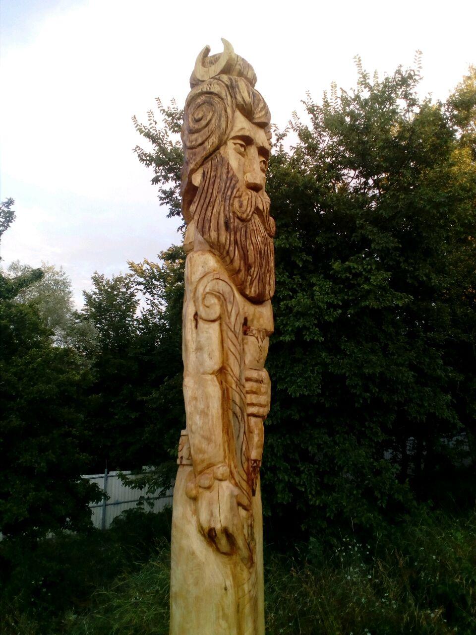 Чур Бога Велеса, Ритуальная атрибутика, Ильский,  Фото №1