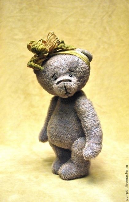 Мишки Тедди ручной работы. Ярмарка Мастеров - ручная работа Лаванда (Лави). Handmade.