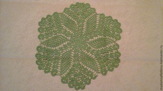 """Текстиль, ковры ручной работы. Ярмарка Мастеров - ручная работа. Купить салфетка ажурная """"цветок"""". Handmade. Салфетка, подруге"""