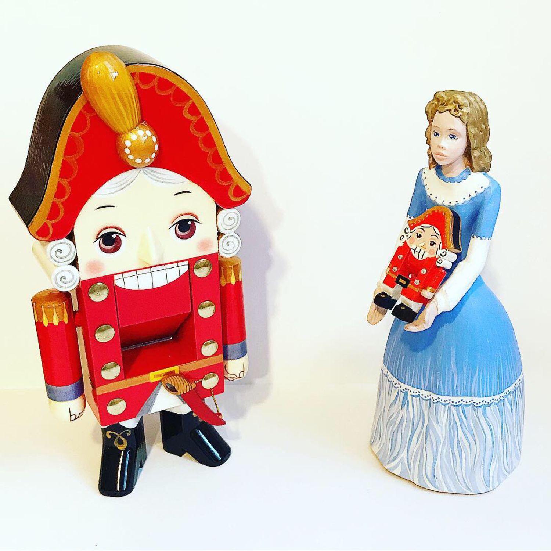 Деревянная статуэтка Клара Мари, Куклы и пупсы, Москва,  Фото №1