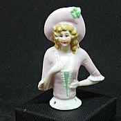 Куклы винтажные ручной работы. Ярмарка Мастеров - ручная работа Half doll половика куколки в розовом. Handmade.