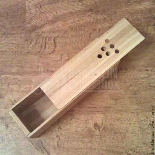 Деревянный футляр для бутылки вина. Идеальный подарок для коллег и друзей