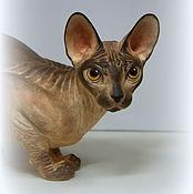 Для дома и интерьера ручной работы. Ярмарка Мастеров - ручная работа Кошка по вашим фото. Handmade.