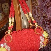 Классическая сумка ручной работы. Ярмарка Мастеров - ручная работа Сумка- ракушка Осень. Handmade.