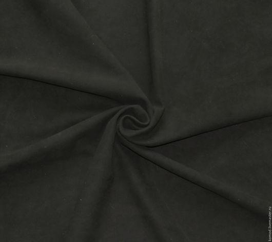 Шитье ручной работы. Ярмарка Мастеров - ручная работа. Купить Натуральная тонкая замша для цветов и аксессуаров №6. Handmade. Коричневый