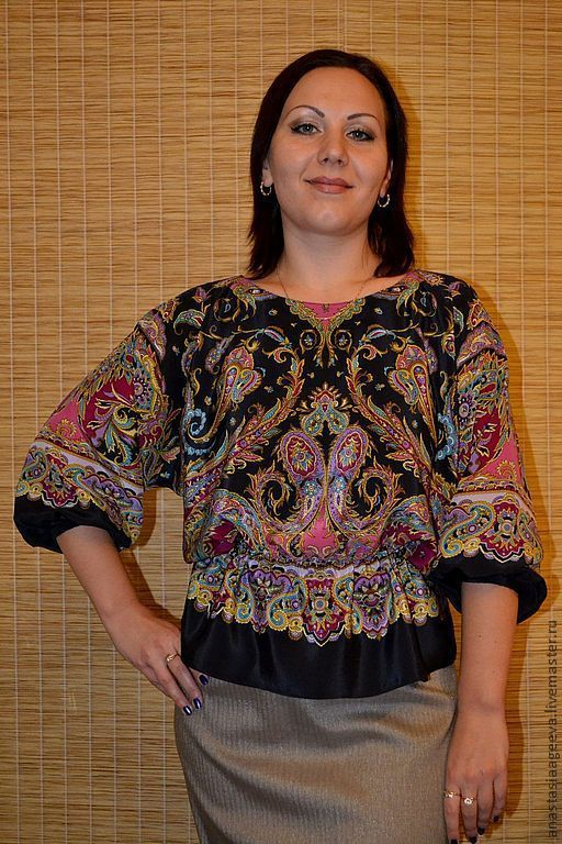 Блузка из платков