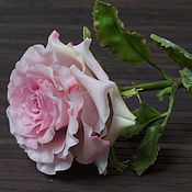 Цветы ручной работы. Ярмарка Мастеров - ручная работа Роза из полимерной глины. Handmade.