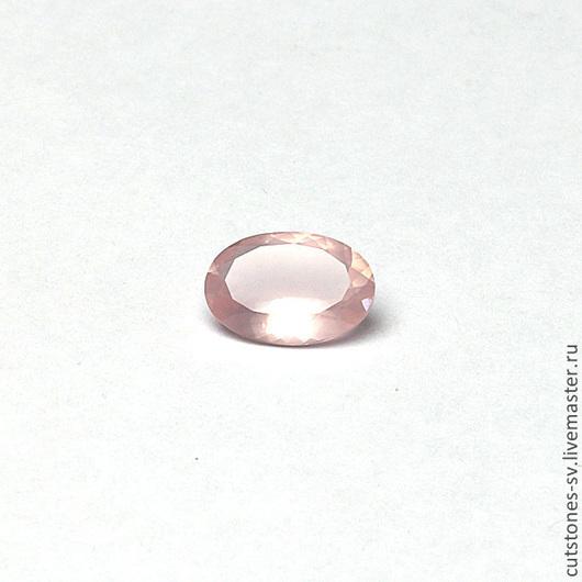 Для украшений ручной работы. Ярмарка Мастеров - ручная работа. Купить Кварц Розовый натуральный Овал 20х14 мм. Handmade.