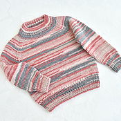 Одежда детская handmade. Livemaster - original item Children`s knitted jumper for height 80-92 cm. Handmade.