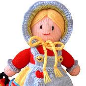 Куклы и игрушки ручной работы. Ярмарка Мастеров - ручная работа Кукла. Вязаная кукла из шерсти  Марфушечка. Handmade.