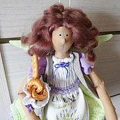 Куклы и игрушки ручной работы. Ярмарка Мастеров - ручная работа Лавандовая фея Софи / Тильда ангел в стиле Прованс. Handmade.