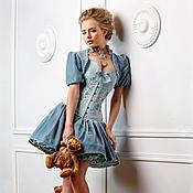 """Одежда ручной работы. Ярмарка Мастеров - ручная работа Корсетное платье """"Версаль"""". Handmade."""