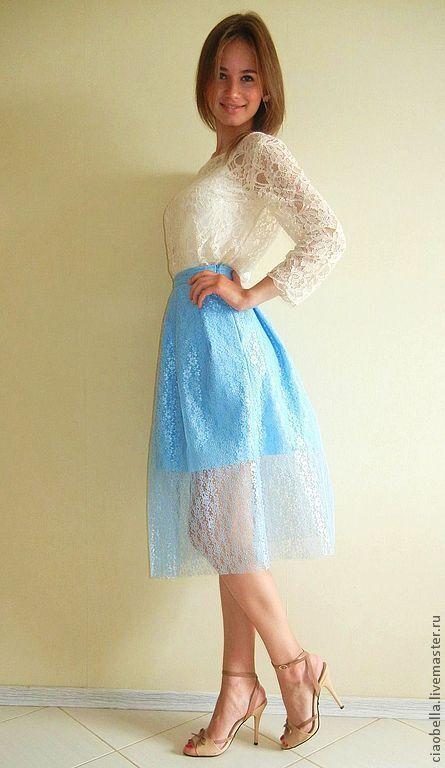 Гипюровые юбки в интернет магазине