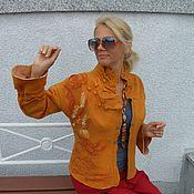 """Одежда ручной работы. Ярмарка Мастеров - ручная работа Жакет """" Степная роза"""".. Handmade."""