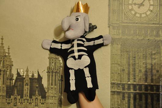 """Кукольный театр ручной работы. Ярмарка Мастеров - ручная работа. Купить """"Кощей Бессмертный"""" кукольный театр на руку. Handmade. Комбинированный"""