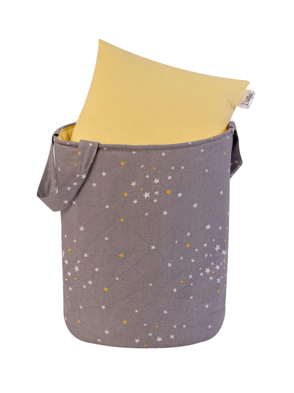 Текстильная корзина для игрушек «Созвездие»/серый, Корзины, Ульяновск,  Фото №1