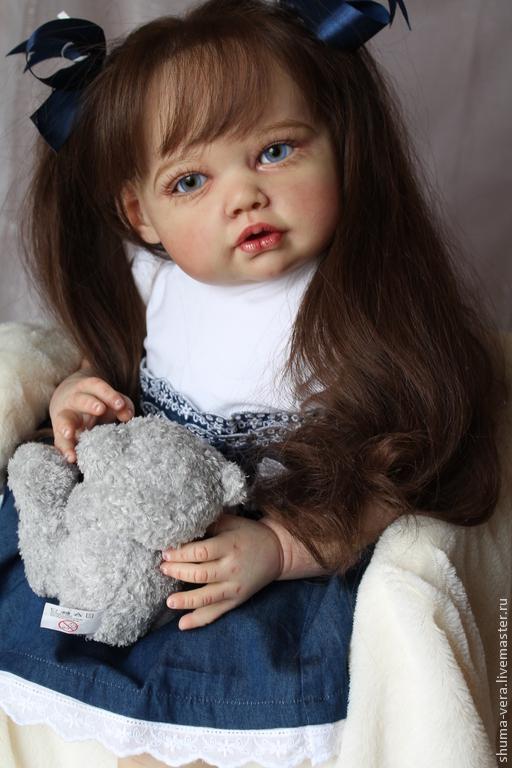 Куклы-младенцы и reborn ручной работы. Ярмарка Мастеров - ручная работа. Купить кукла реборн Виктория. Handmade. кукла в подарок
