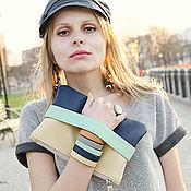 """Сумки и аксессуары handmade. Livemaster - original item Клатч """"CarryMe"""" Клатч эко-кожа Клатч синий Клатч с ручкой. Handmade."""