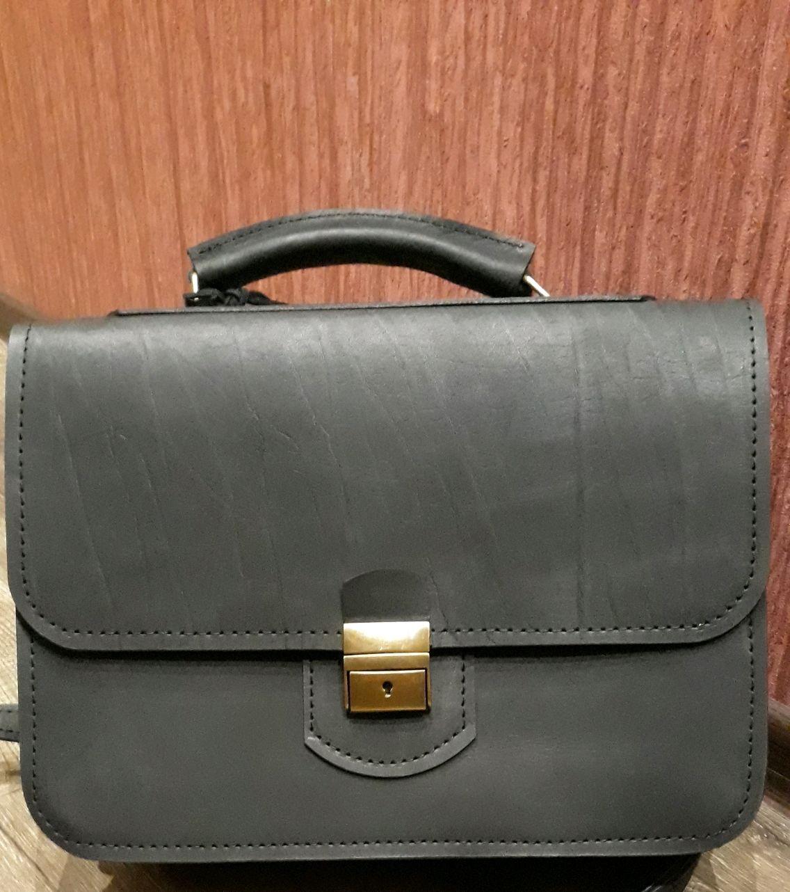 68bfea384f86 Мужские сумки ручной работы. Ярмарка Мастеров - ручная работа. Купить  Мужской кожаный портфель арт ...