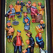 Картины и панно ручной работы. Ярмарка Мастеров - ручная работа Ярмарка. Handmade.