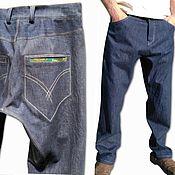 Одежда handmade. Livemaster - original item Jeans custom design Levis Engineered. Handmade.