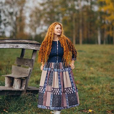 """Одежда. Ярмарка Мастеров - ручная работа Теплое платье """"Красотка"""". Handmade."""