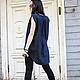 R00009 Топ из льна летний топ туника летняя туника модная одежда