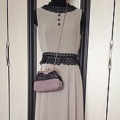 """Одежда ручной работы. Ярмарка Мастеров - ручная работа Платье с кружевом """"Жаклин"""". Handmade."""